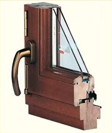 Okno drewniane S klasa