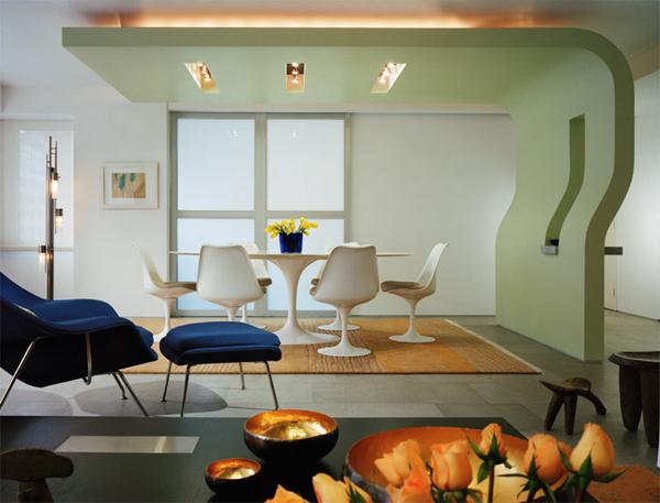 Mieszkanie pełne wolnej przestrzeni, w którym ściany działowe prawie nie istnieją