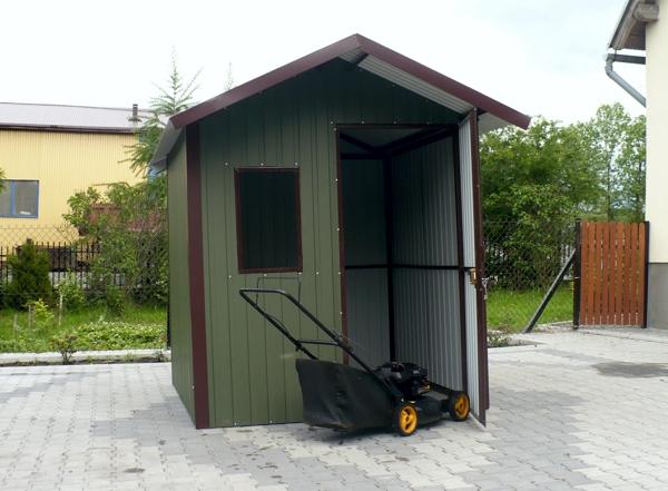Domki ogrodowe – idealne miejsce do przechowywania sprzętu