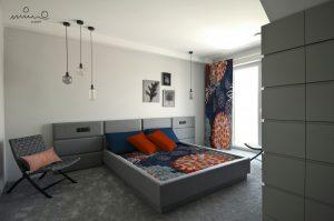sypialnia kolory