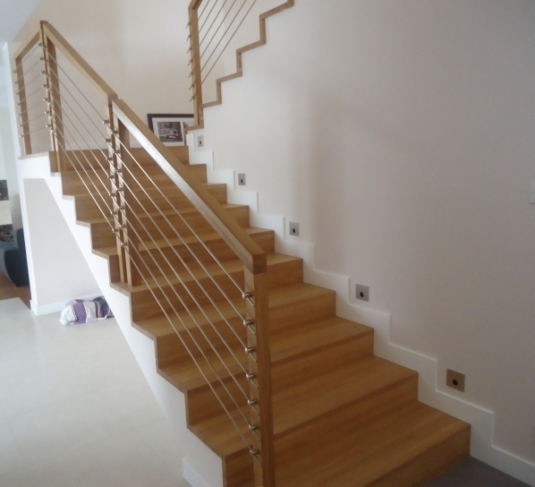 Typy schodów drewnianych